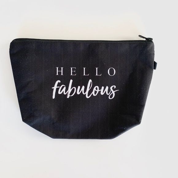 centsible_wear Handbags - The Perfect You're Fabulous Black and White Pouch